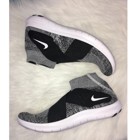 New Womens Nike Free Rn Motion Flyknit